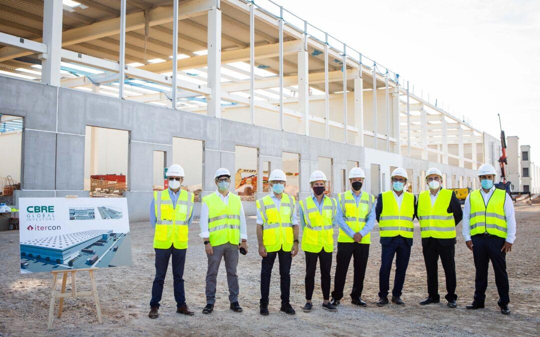 ITERCON y CBRE Global Investors colocan a Alaquàs en el mapa logístico nacional con la construcción de una planta de más de 33.000 m2